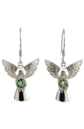 Guardian Angel Earrings Peridot