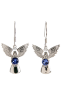 Guardian Angel Earrings Sapphire