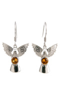 Guardian Angel Earrings Topaz