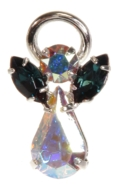 Guardian Angel Pin Blue Zircon