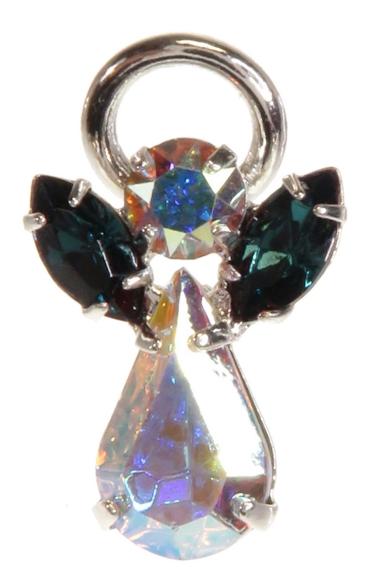Guardian Angel Pin Blue Zircon