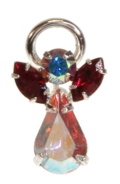 Guardian Angel Pin Garnet