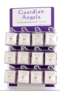 Guardian Angel Pin Display White