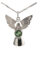 Guardian Angel Necklace Peridot