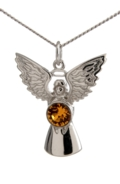 Guardian Angel Necklace Topaz