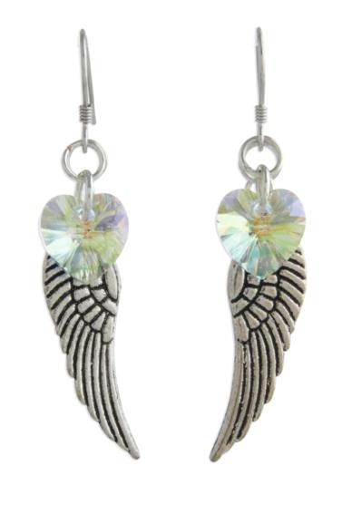 Angel Wing Earrings AB