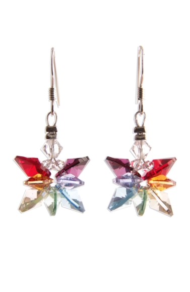 Chakra Butterfly Earrings