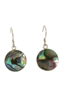 Paua Shell Earrings - Sun