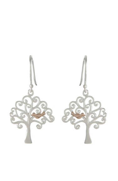 Sterling Silver Earrings - Tree of Life