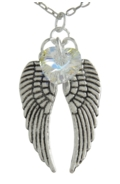 Angel Wing Necklace AB