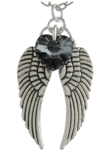 Angel Wing Necklace Silvernight