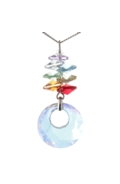Chakra Cascade Necklace Circle of Life