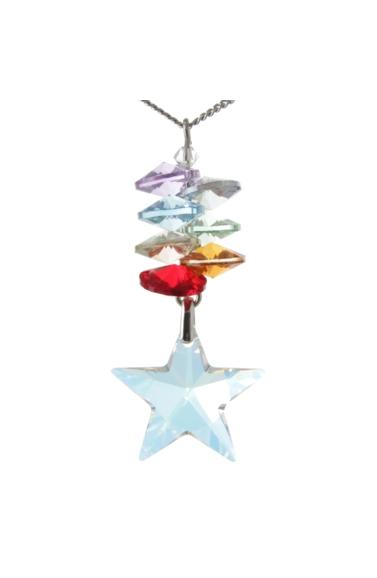Chakra Cascade Necklace Star