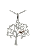 Sterling Silver Necklace - Tree of Life