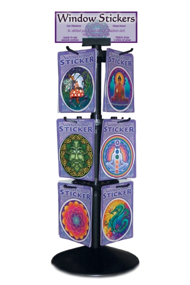 Mandala Art Show Offer 72 stickers & display