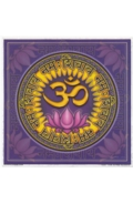 Illumination Art Stickers Aum Namah Shuvaya