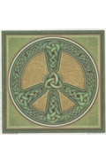Illumination Art Stickers Celtic Peace
