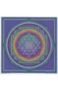 Illumination Art Stickers Sri Yantra