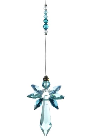 Radiant Angel Blue Zircon