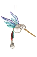 Fantasy Glass Hummingbird Rainbow