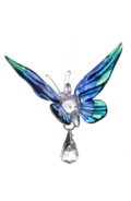 Fantasy Glass Butterfly Peacock