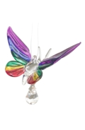 Fantasy Glass Butterfly Rainbow