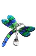 Fantasy Glass Dragonfly Peacock