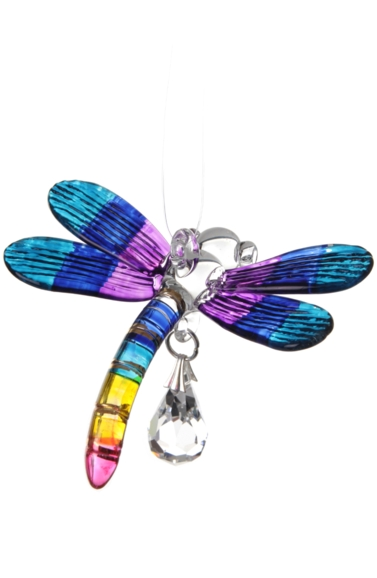 Fantasy Glass Dragonfly Tropical