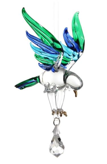 Fantasy Glass Eagle Peacock