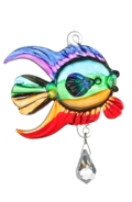 Fantasy Glass Fish Rainbow