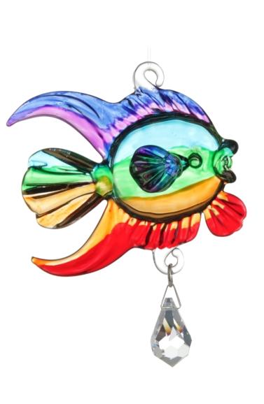 Fantasy Glass Fish Rainbow