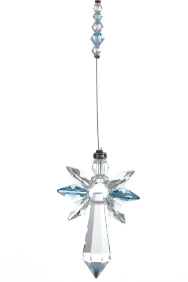 Large Crystal Guardian Angel Aquamarine