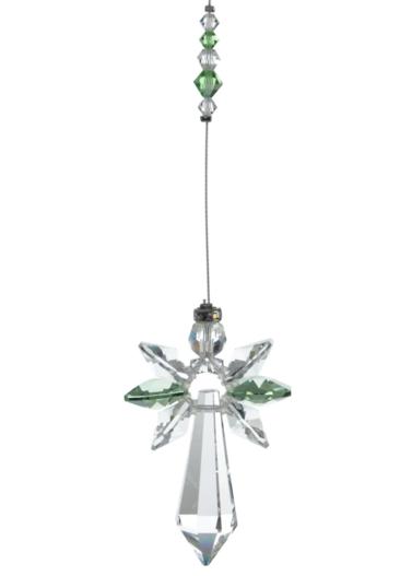 Large Crystal Guardian Angel Peridot