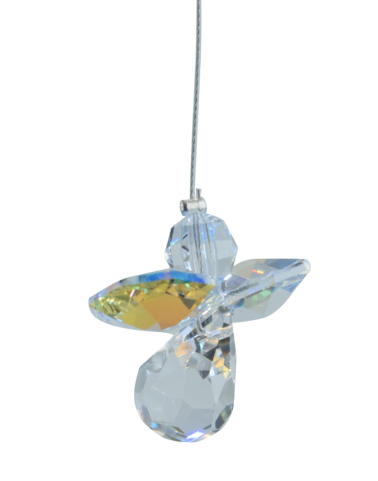 Classic Crystal Guardian Angel Aurora Borealis