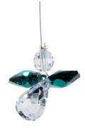 Classic Crystal Guardian Angel Emerald