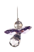 Classic Crystal Guardian Angel Light Amethyst