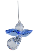 Classic Crystal Guardian Angel Sapphire