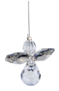 Classic Crystal Guardian Angel Silver