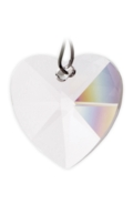 Rainbow Maker Heart 28mm Crystal