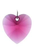 Rainbow Maker Heart 28mm Ruby