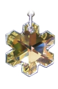 Rainbow Maker Snowflake 30mm Crystal AB