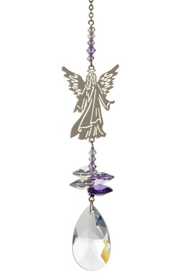 Crystal Fantasies Angel in Robes Purple