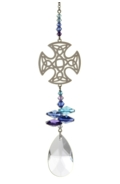 Crystal Fantasies Celtic Cross - Moonlight