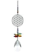 Crystal Fantasies Flower of Life - Rainbow