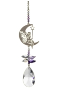 Crystal Fantasies Fairy with Wand - Purple