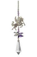 Crystal Fantasies Pegasus - Purple