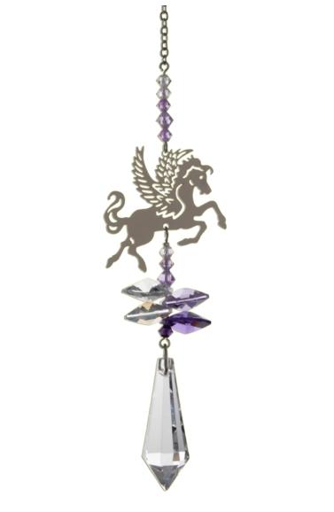 Crystal Fantasies Pegasus - Purple