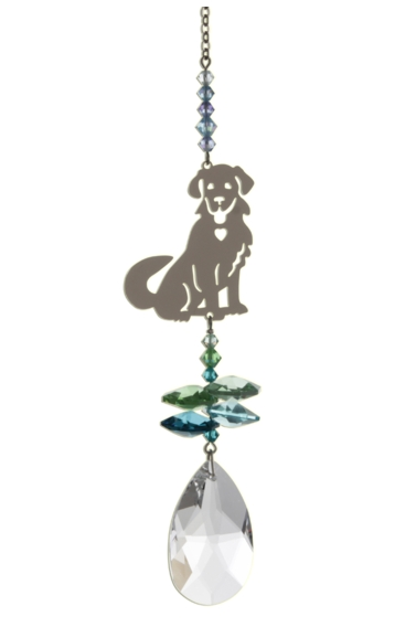 Crystal Fantasies Puppy - Green