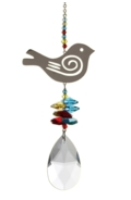 Large Crystal Fantasies Songbird - Tropical