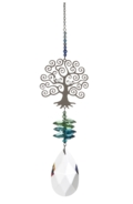 Large Crystal Fantasies Tree of Life - Green